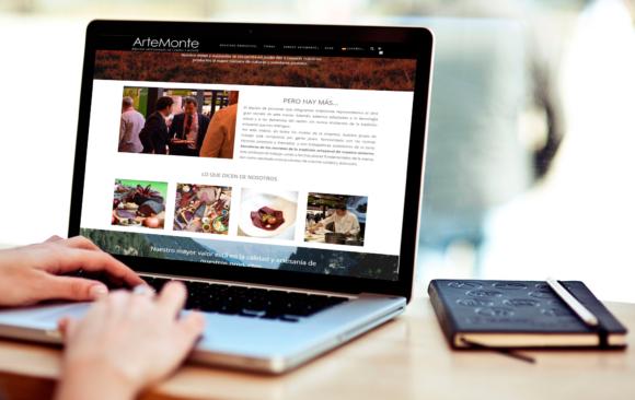 Web E-commerce y gestión de redes sociales Artemonte