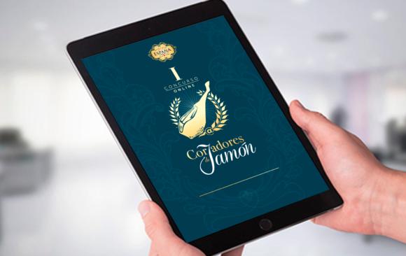 Primer concurso online cortadores de jamón Embutidos España